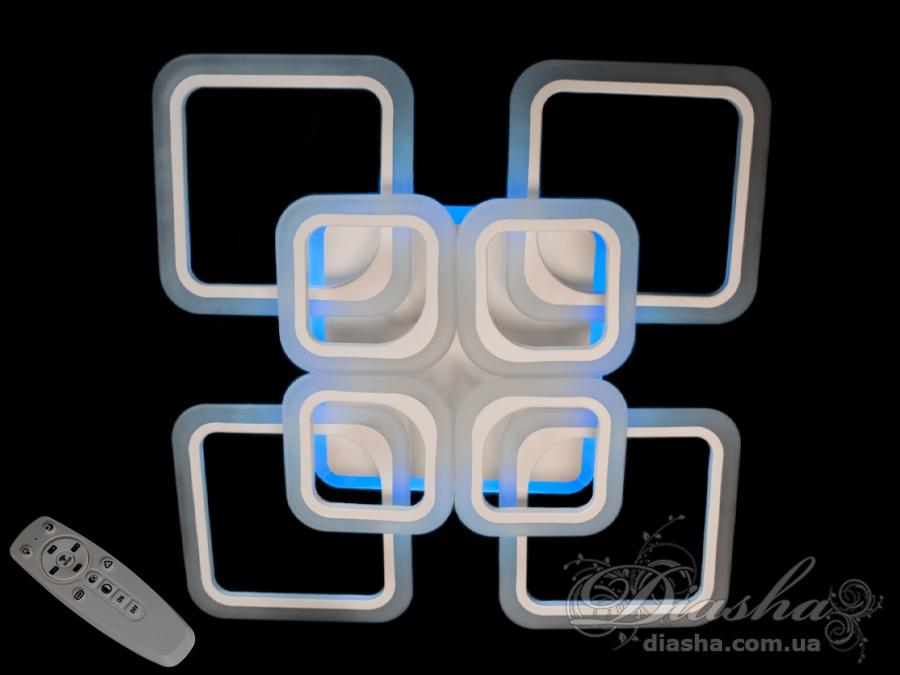 Потолочная светодиодная люстра 145WПотолочные люстры, Светодиодные люстры, Люстры LED, Потолочные, Новинки