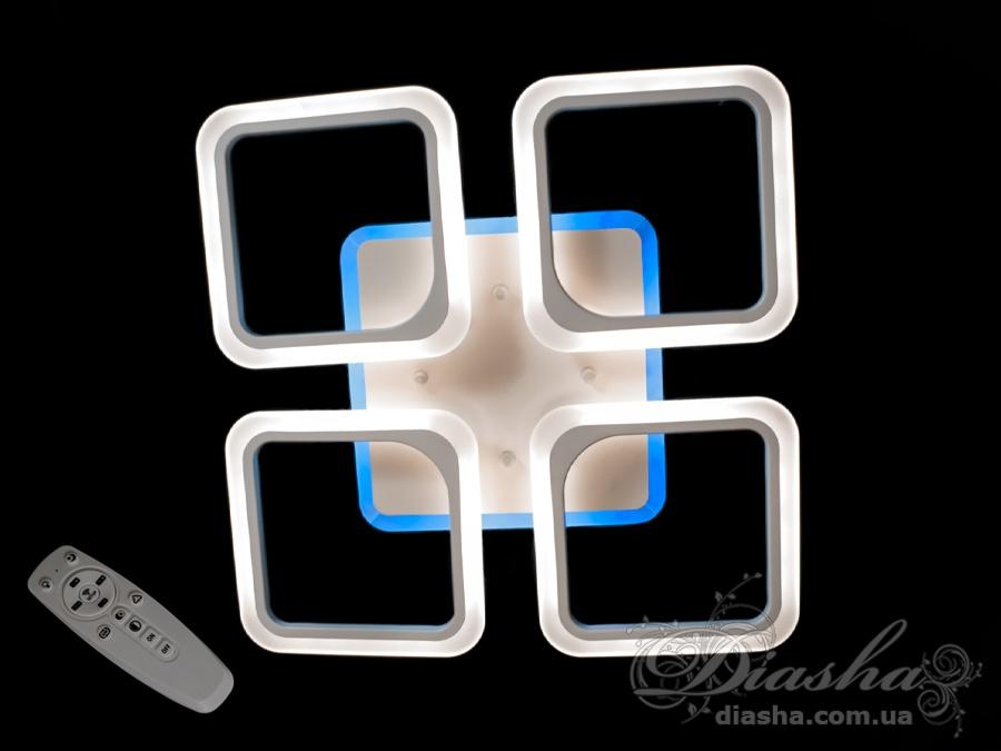 Потолочная светодиодная люстра 100WПотолочные люстры, Светодиодные люстры, Люстры LED, Потолочные, Новинки