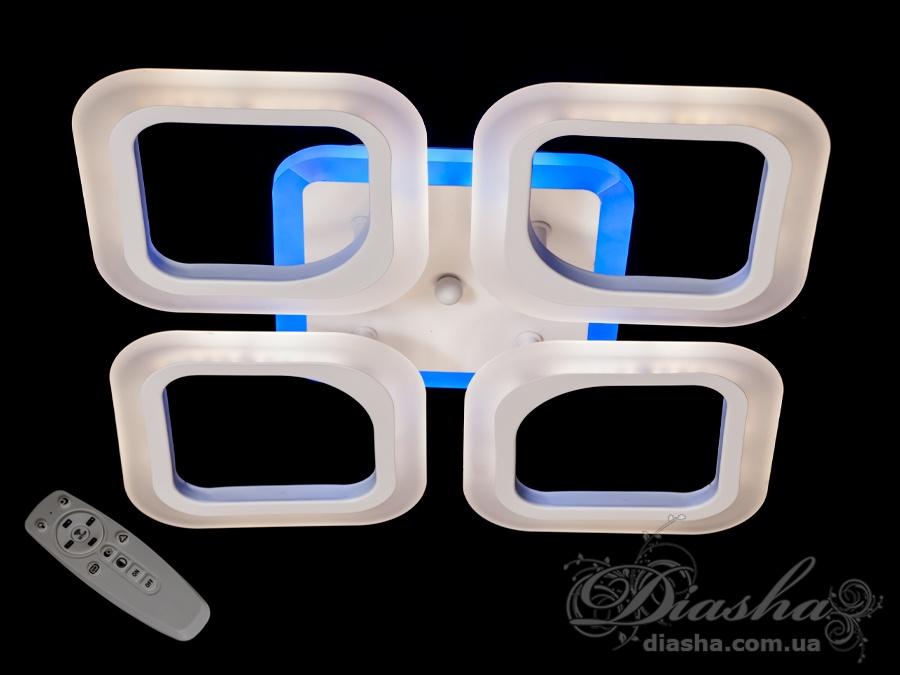 Потолочная светодиодная люстра 60WПотолочные люстры, Светодиодные люстры, Люстры LED, Потолочные, Новинки