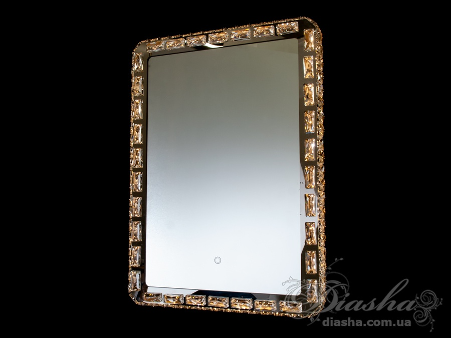 Зеркало со встроенной подсветкой и сенсорным управлением, 30WПодсветка для зеркала, Зеркала со встроенной подсветкой