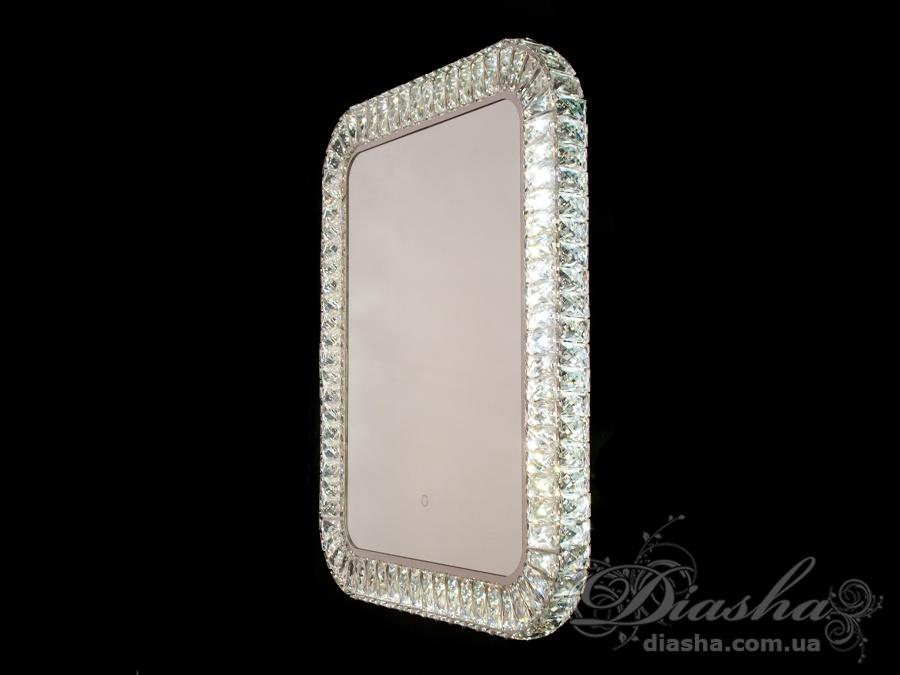 Зеркало со встроенной подсветкой и сенсорным управлением, 20WПодсветка для зеркала, Зеркала со встроенной подсветкой