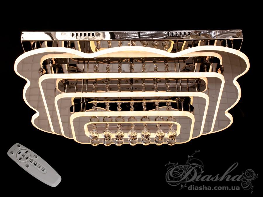 Светодиодные люстры «торт» с димером, 210WПотолочные люстры, Люстра