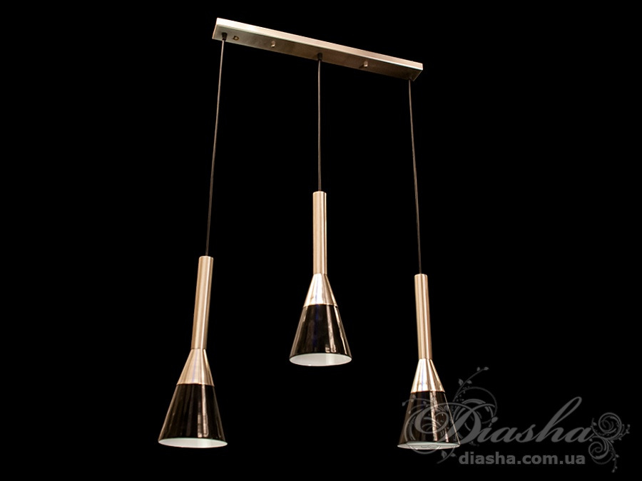 Идеальный вариант для освещения обеденного стола или рабочей поверхности кухни. Регулируемый подвес позволит использовать данную модель на любой кухне.