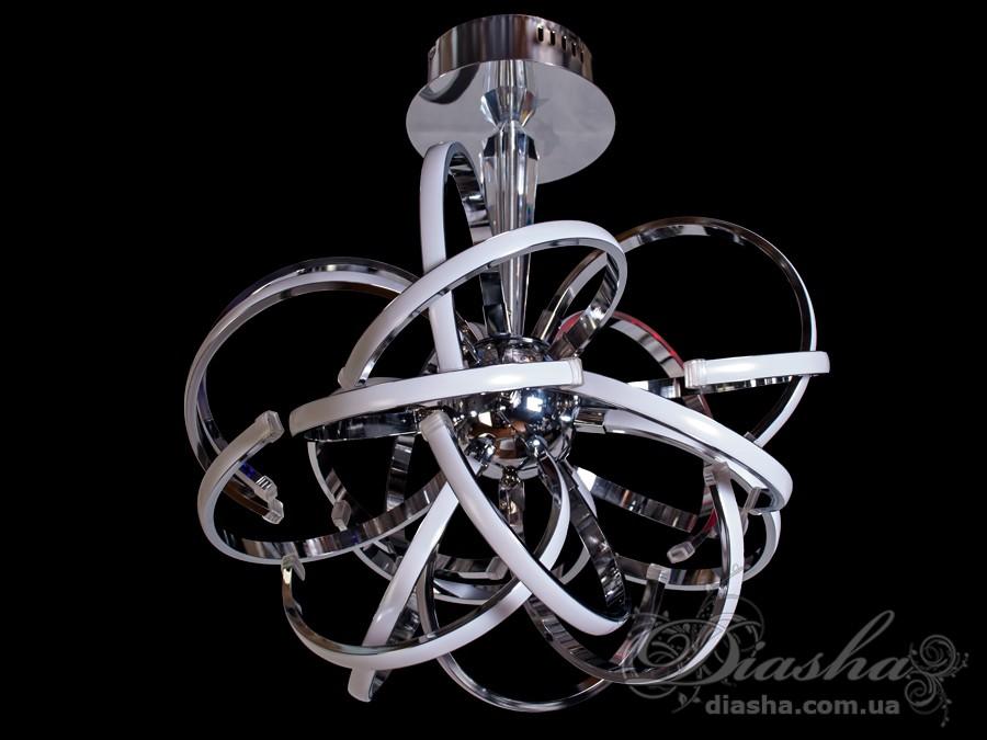 Современная светодиодная люстра, 116WСветодиодные люстры, Люстры LED, Потолочные, Новинки
