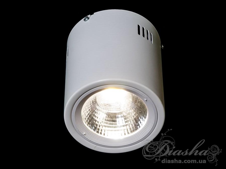 Накладной светодиодный точечный светильник 15WLED downlights, Источники направленного света, Точечные светильники, Подсветка для витрин, Накладные точечные светильники, Новинки