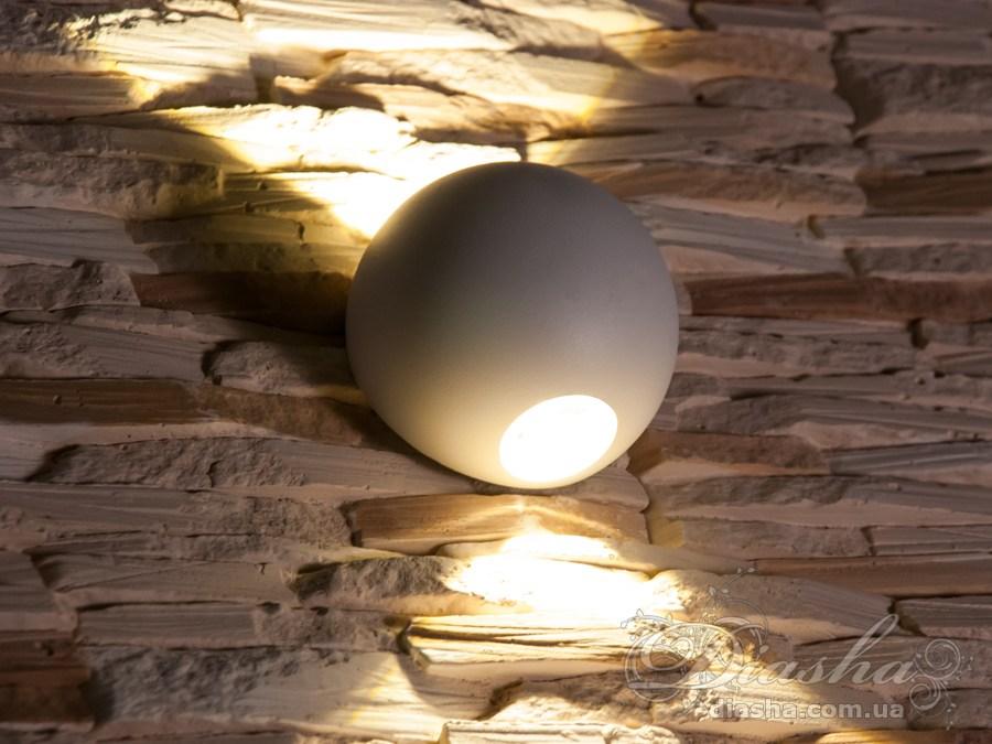 Четырёхлучевой фасадный LED светильник 6WФасадные светильники, LED светильники, уличные светильники, Архитектурная подсветка