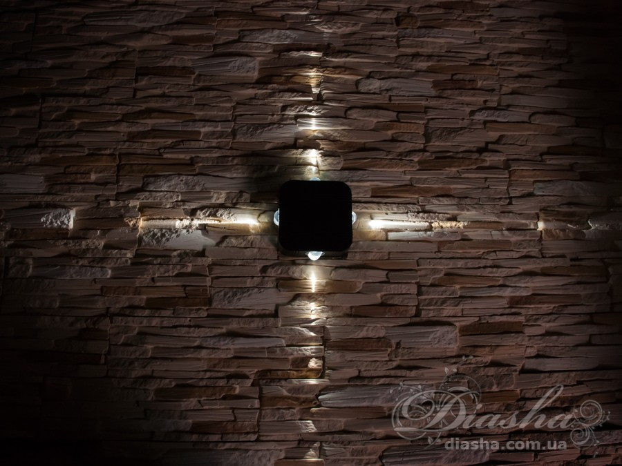 Четырёхлучевой фасадный LED светильникФасадные светильники, LED светильники, уличные светильники, Архитектурная подсветка