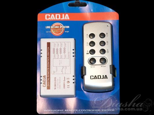Пульт дистанционного управления (ПДУ) позволяет включать и  выключать свет, а также выбирать необходимое количество включенных ламп из любой точки комнаты, и даже не находясь в ней. После установки такого пульта к вашей люстре вам больше нет необходимости выключать свет а потом в темноте пробираться от выключателя к кровати, вы можете удивить ваших гостей погасив или включив освещении не вставая с кресла. Начался захватывающий фильм, вам хочется приглушить свет и лень вставать – нет проблем - всего одно нажатие клавиши на пульте и освещение подчинится Вам.  Также неоспоримым преимуществом пульта является отсутствие необходимости прокладывать проводку к выключателю. Например, если вы решили установить люстру с двумя-тремя и более режимами, а существующая проводка рассчитана всего лишь на одинарный выключатель. И для подключения не обойтись исключительно заменой выключателя, ведь надо и поменять провода от выключателя к люстре. А это в свою очередь ведет к штроблению стен, порче обоев, огромным временным и материальным затратам. При использовании пультового управления все, что придется сделать при установке – подключить блок управления к люстре (устанавливается непосредственно в корпус люстры) и закрепить на стене подставку для пульта. Пульт рассчитан на подключение люстры общей мощностью до 4000Вт, может быть подключен как к галогеновым люстрам, так и к классическим с лампами накаливания или экономками. Размер блока управления настолько невелик, что позволяет устанавливать его практически на любую люстру. Даже при отсутствии у люстры потолочной коробки блок можно закрепить на раме люстры.