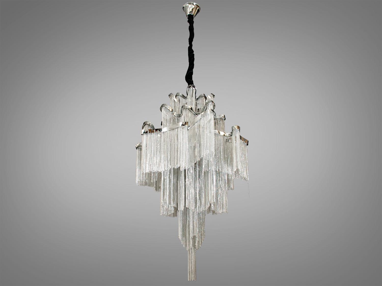 Современная классическая люстра с цепочками, на 8 лампЛюстры классика, Хрустальные люстры