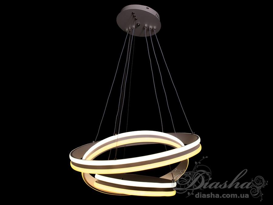 Современная светодиодная люстра, 100WСветодиодные люстры, Люстры LED, Подвесы LED, Новинки