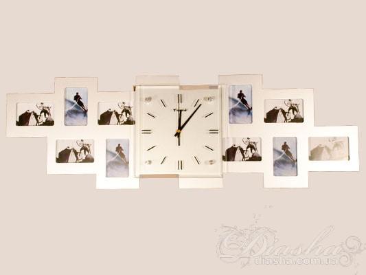 Часы с рамками дляграфий настенные