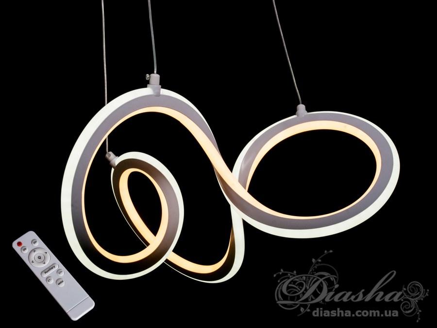 Современная светодиодная люстра, 55WСветодиодные люстры, Люстры LED, Подвесы LED
