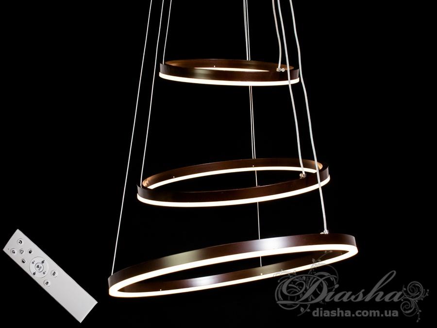 Современная светодиодная люстра, 105WСветодиодные люстры, Люстры LED, Подвесы LED, Новинки