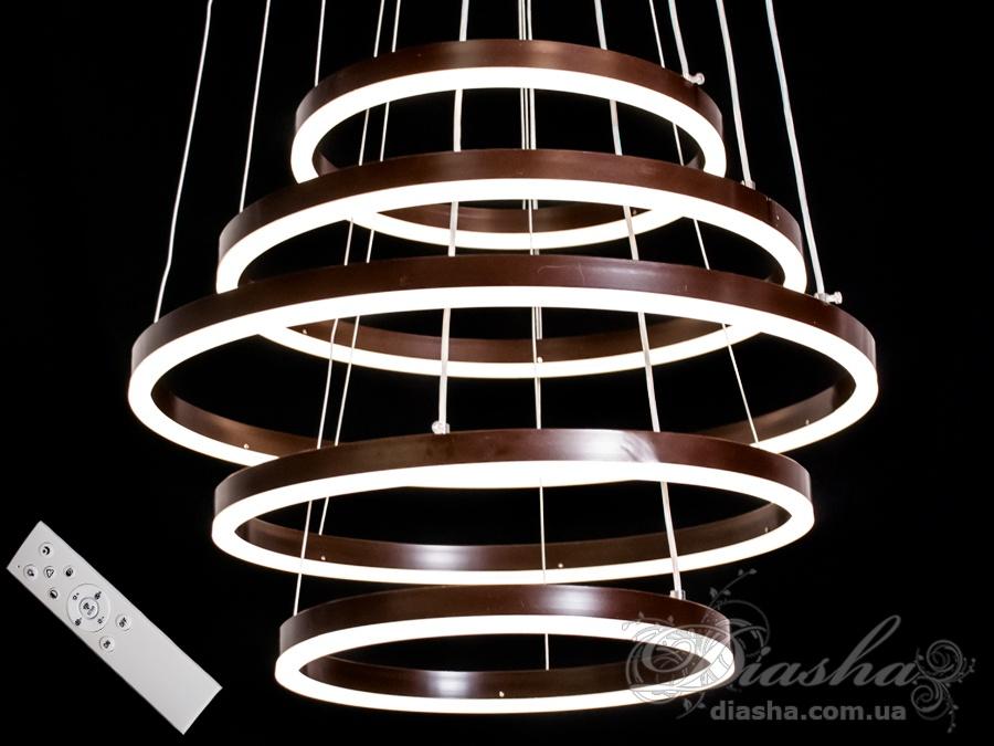 Современная светодиодная люстра, 155WСветодиодные люстры, Люстры LED, Подвесы LED, Новинки