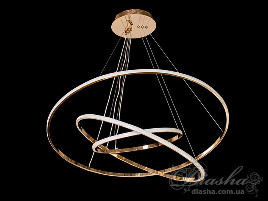 LED люстра подвесная, 75WСветодиодные люстры, Люстры LED, Подвесы LED