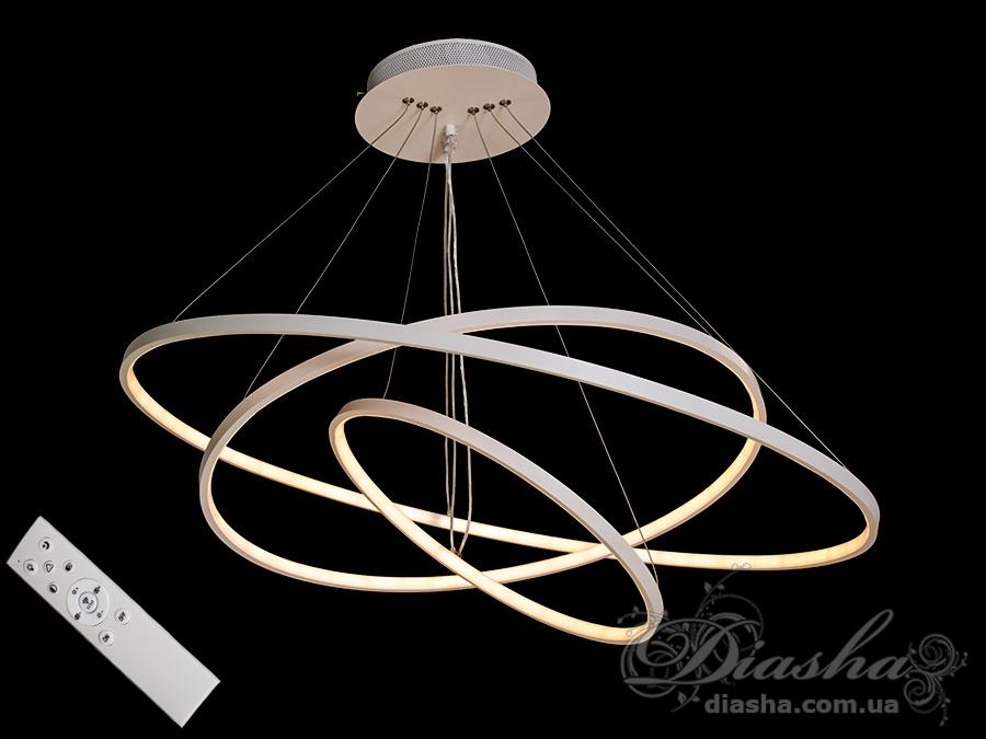 LED люстра с диммером, 150WСветодиодные люстры, Люстры LED, Подвесы LED, Новинки