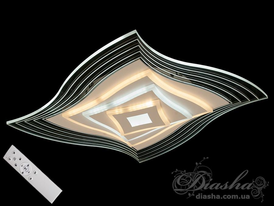 Потолочная светодиодная панель с диммером 90WПотолочные люстры, Светодиодные люстры, Люстры LED, Потолочные, светодиодные панели, Новинки