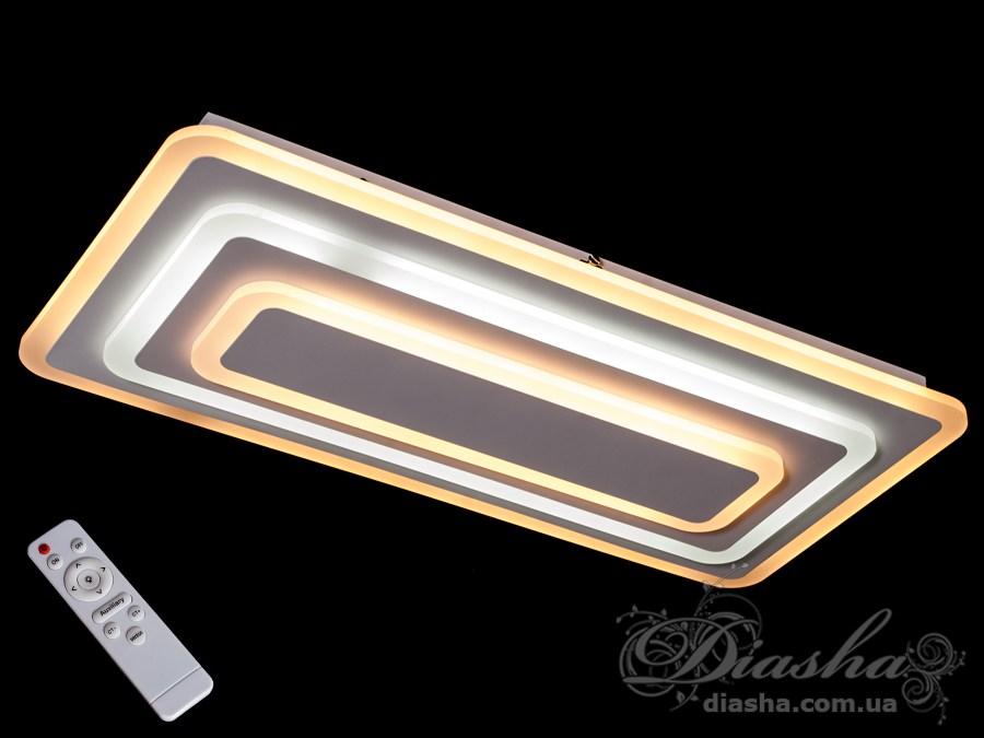 Потолочная светодиодная люстра с диммером 90WПотолочные люстры, Светодиодные люстры, Люстры LED, Потолочные, светодиодные панели, Новинки