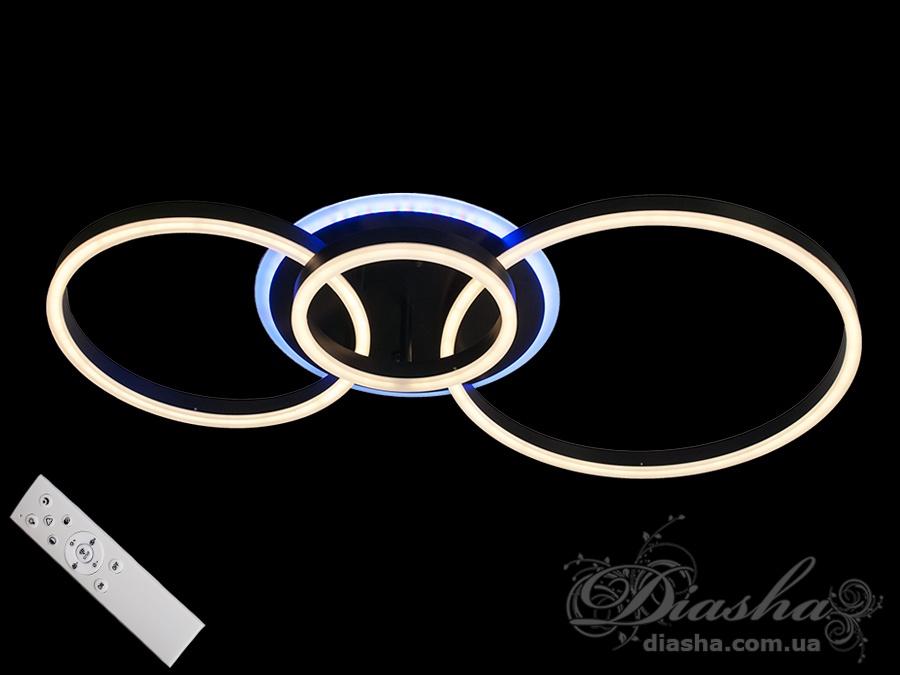 Потолочная светодиодная люстра с диммером 95WПотолочные люстры, Светодиодные люстры, Люстры LED, Потолочные, Новинки