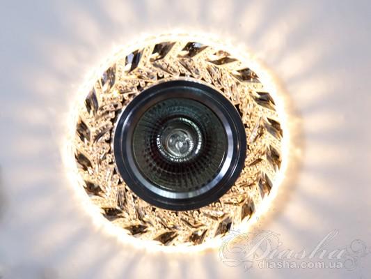 Светильник со встроенной светодиодной подсветкойВрезка, Точечные светильники из оптической смолы,Точечные светильники, Серия SBT, Новинки