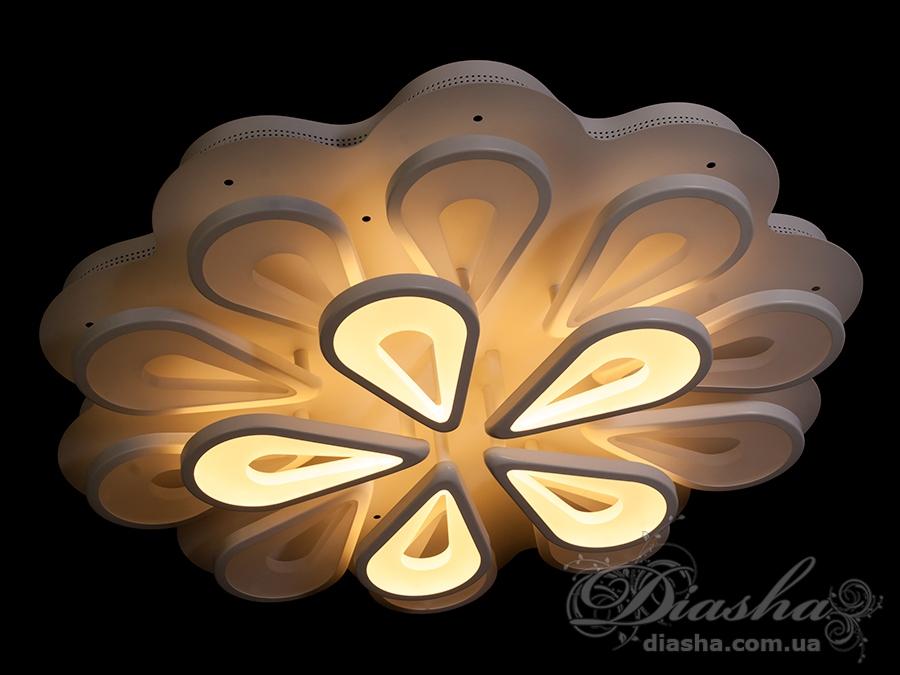 Потолочная светодиодная люстра 230WПотолочные люстры, Светодиодные люстры, Люстры LED, Потолочные