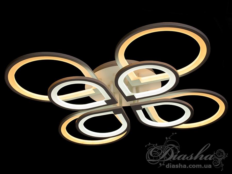 Потолочная светодиодная люстра 220WПотолочные люстры, Светодиодные люстры, Люстры LED, Потолочные