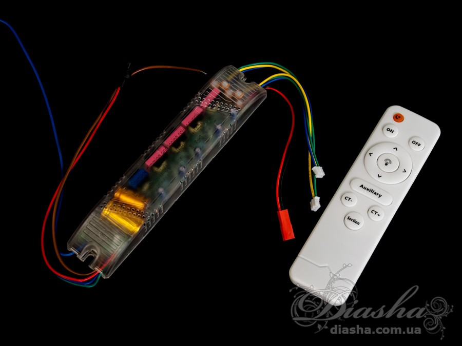 Пульт-диммер для светодиодной люстры, 40-60 Вт, 4 каналаЭлектрофурнитура, Пульты