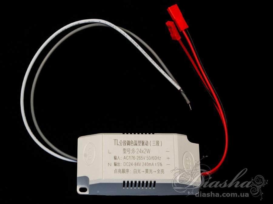 Блок питания для светодиодных люстр и бра 48WЭлектрофурнитура, Трансформаторы и ПРУ
