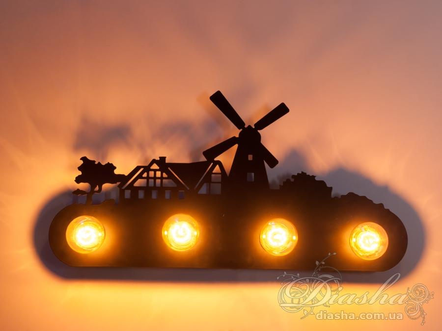 Настенный светильник в стиле LoftСветильники