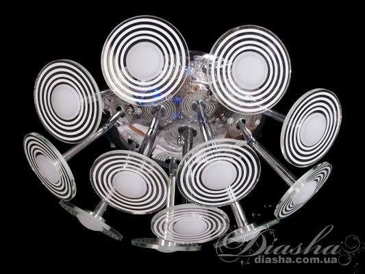 Светодиодная люстра с дополнительной подсветкойПотолочные люстры, Светодиодные люстры, Люстры LED, Детские, Потолочные, Поступление 18-10-2015